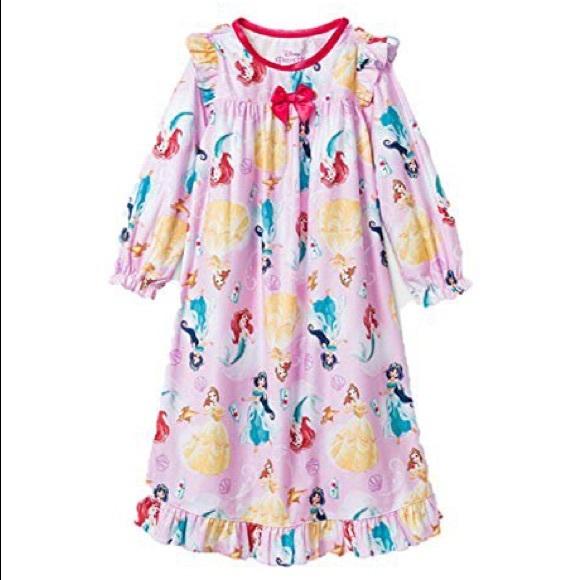 GENTLY USED Disney Princess Long Sleeve Nightgown